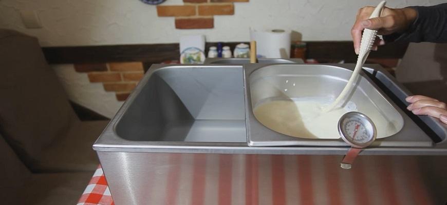 Как делать сыр моцарелла дома 2