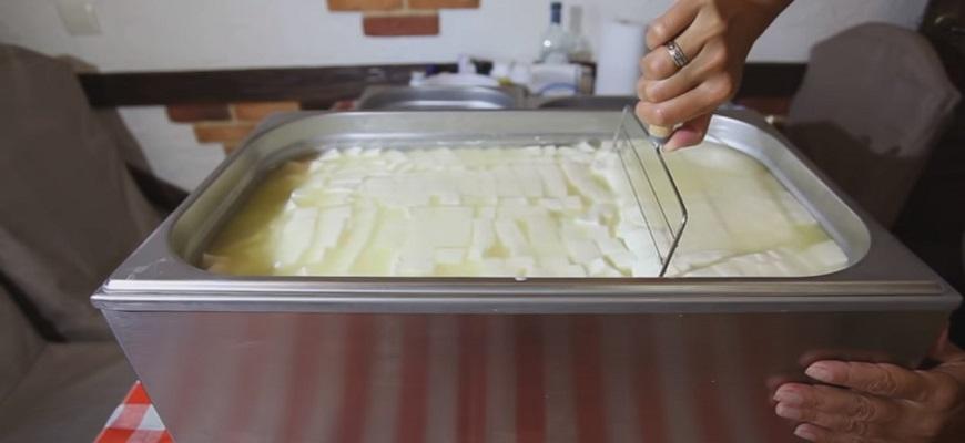 приготовление сыра сулугуни в домашних условиях 5