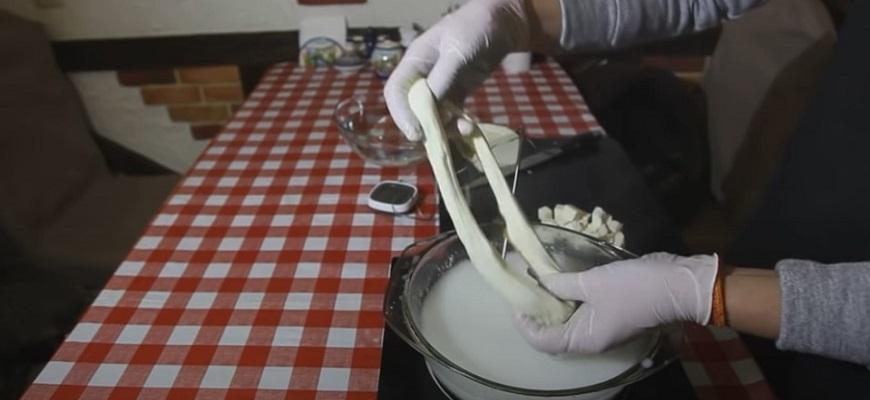 Приготовление сыр чечил дома 9